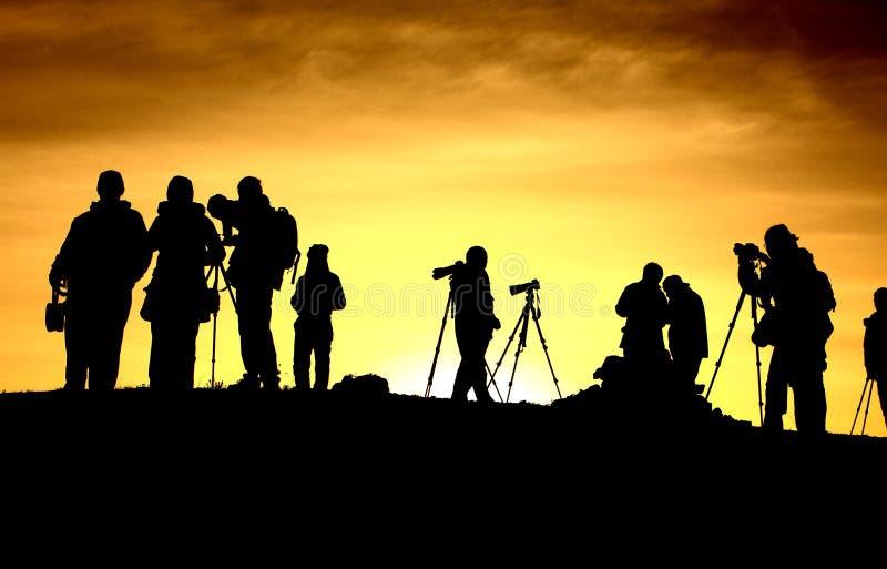 Fotografen stock foto