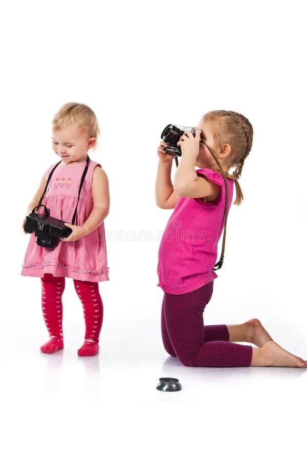 fotografera för barn arkivbilder