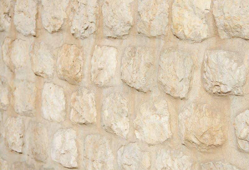 fotograferad grund vägg för stenblockdof limestone arkivbild