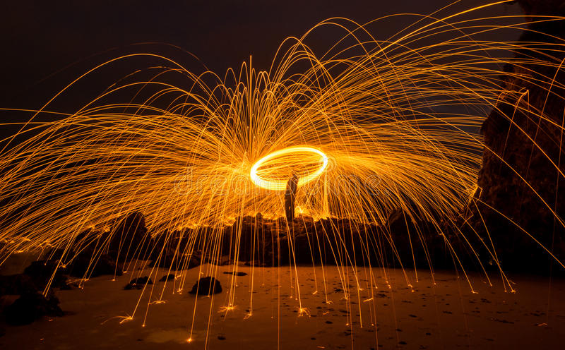 Fotografi för stålull arkivfoton