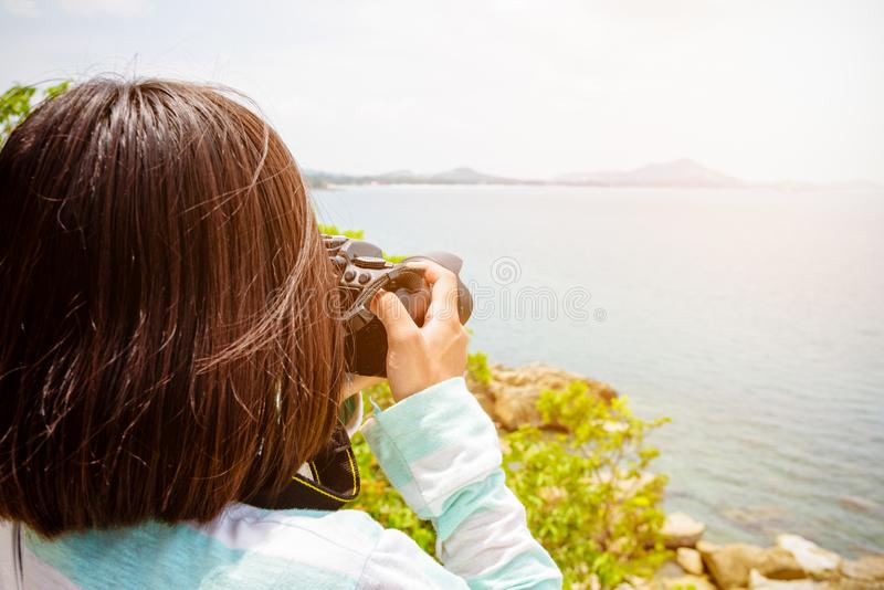 Fotografi för ung kvinna royaltyfri bild