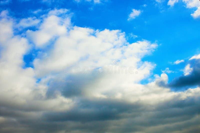 fotografi som beskriver molnig himmel royaltyfri foto