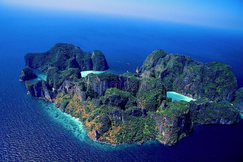 Fotografia aerea fotografie stock