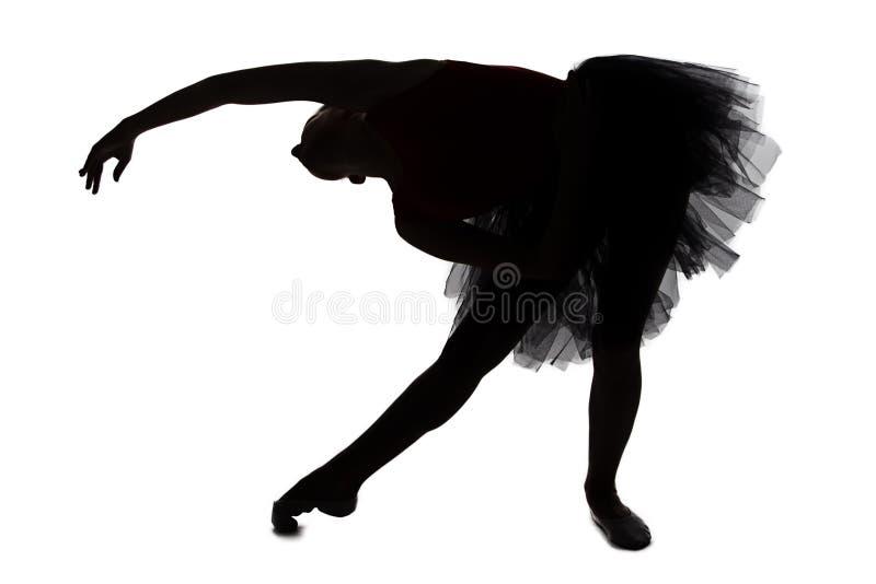 Fotografia balerina w plandece obrazy stock