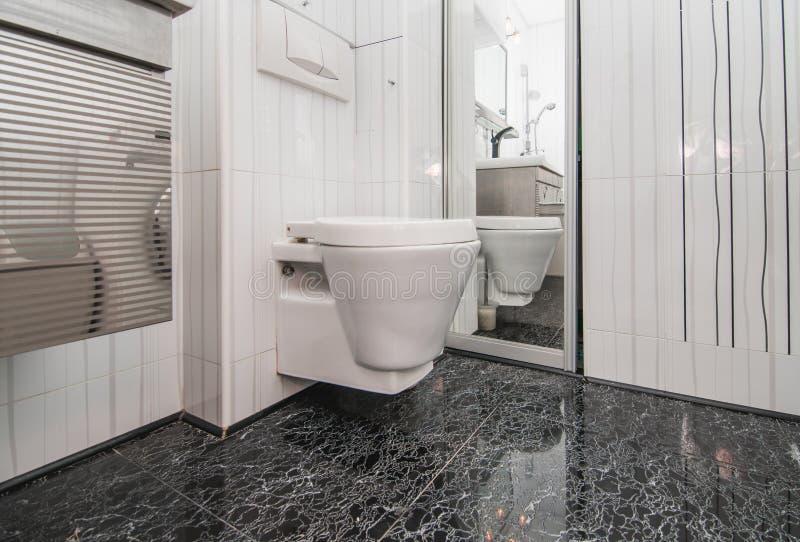Fotografia biały toaletowy puchar fotografia stock
