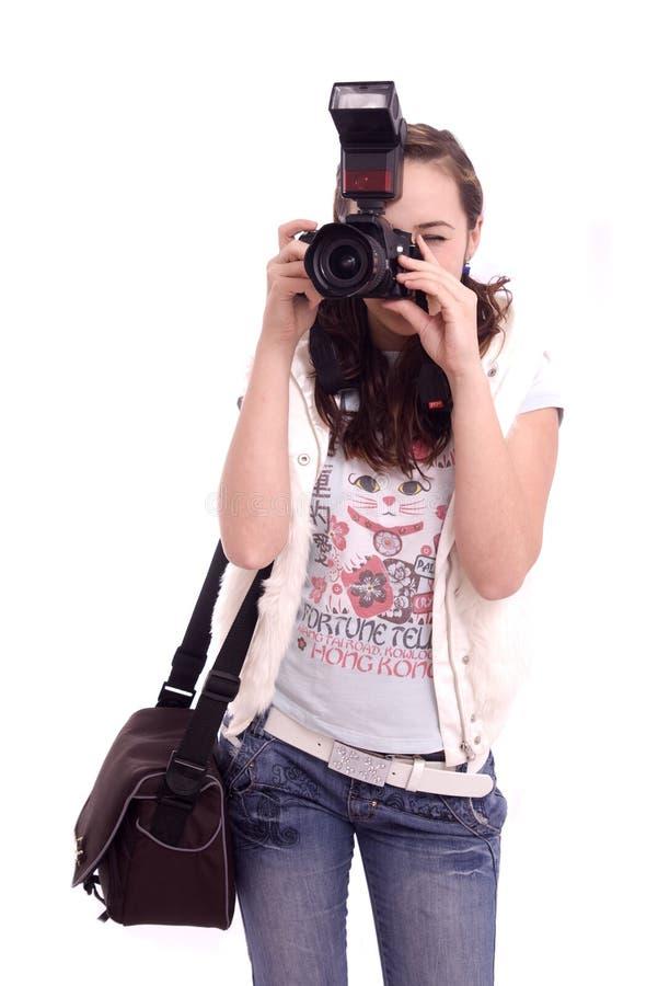 Fotografia bonita da menina imagem de stock