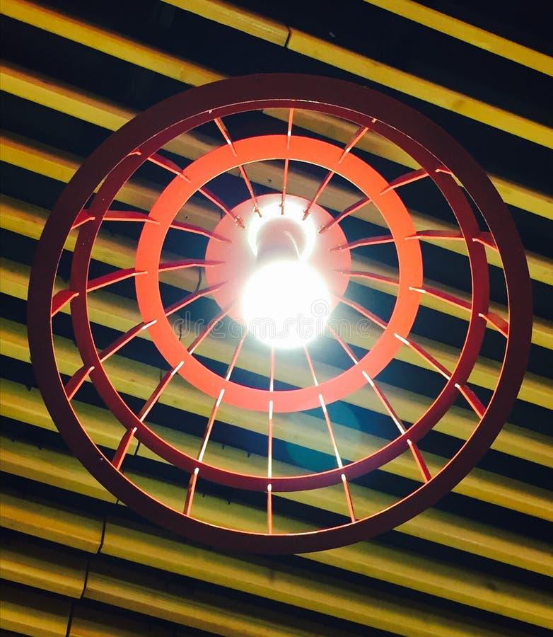 Fotografia calda della lampadina fotografia stock