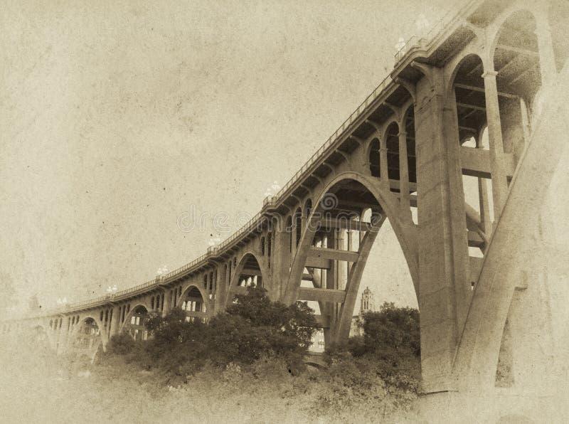 Fotografia da ponte do vintage fotografia de stock royalty free