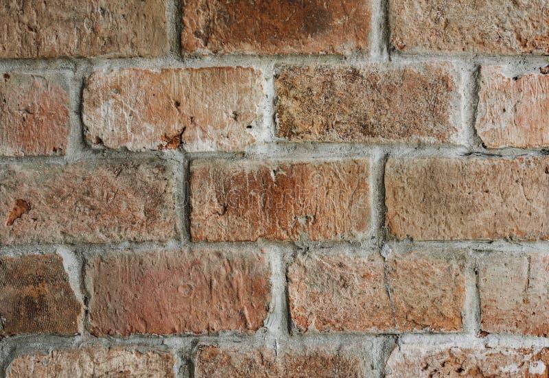 Fotografia de Ações da Parede Bricked Brown fotos de stock
