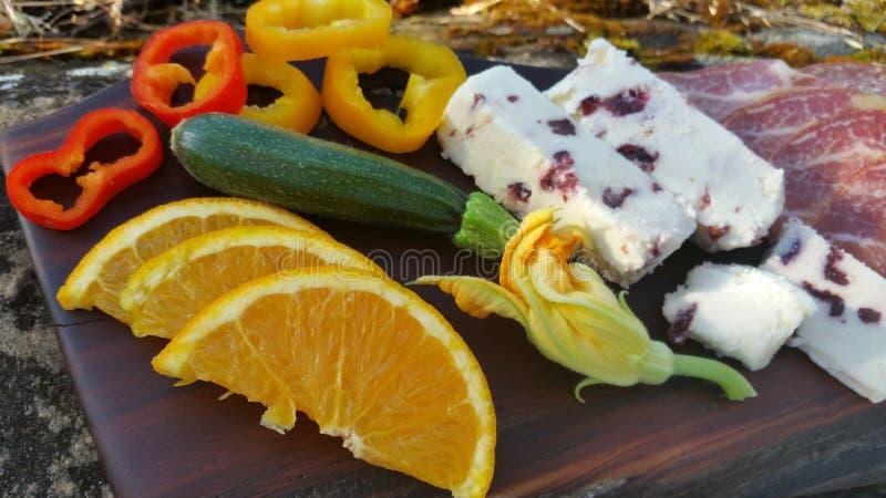 Fotografia de aperitivos dos alimentos de dedo imagens de stock royalty free