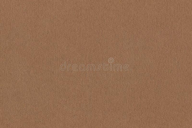 A fotografia de recicla a textura listrada do Grunge do papel de embalagem de Brown da grão grosseira fotos de stock royalty free