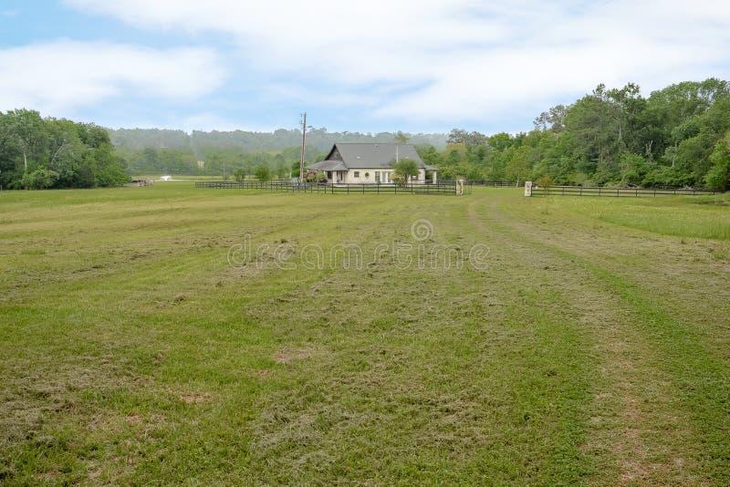 Fotografia de Texas Mini Farm /Ranch Real Estate foto de stock