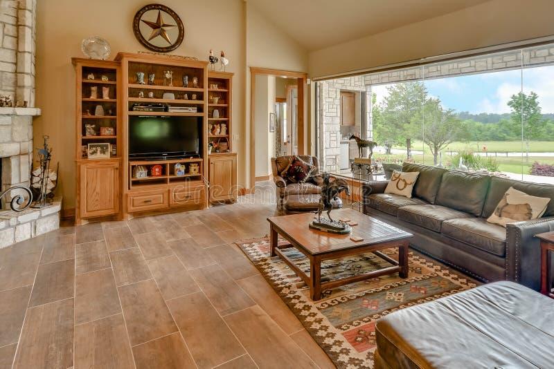 Fotografia de Texas Mini Farm /Ranch Real Estate foto de stock royalty free