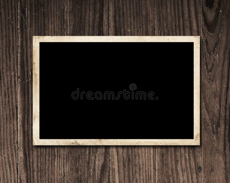 Fotografia dell'annata su legno. fotografia stock libera da diritti