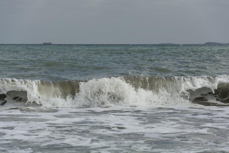 Fotografia dell'onda del stampabile-mare dell'download-oceano della stampa del stampabile-mare di arte-Wave della parete di stamp immagine stock