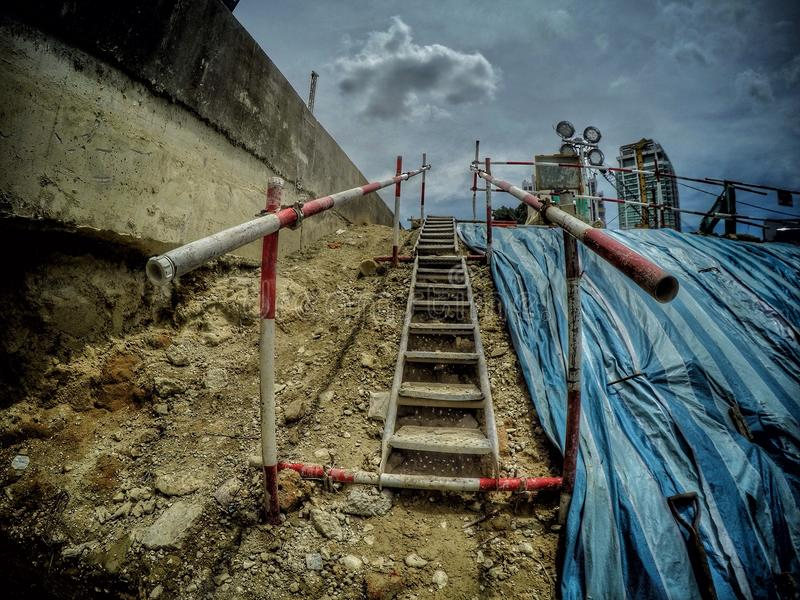 Fotografia della costruzione della Malesia immagine stock libera da diritti