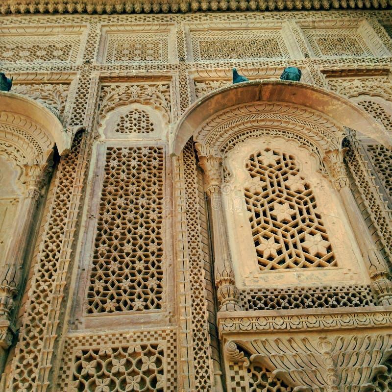 Fotografia della fortificazione di Mehrangarh immagini stock libere da diritti
