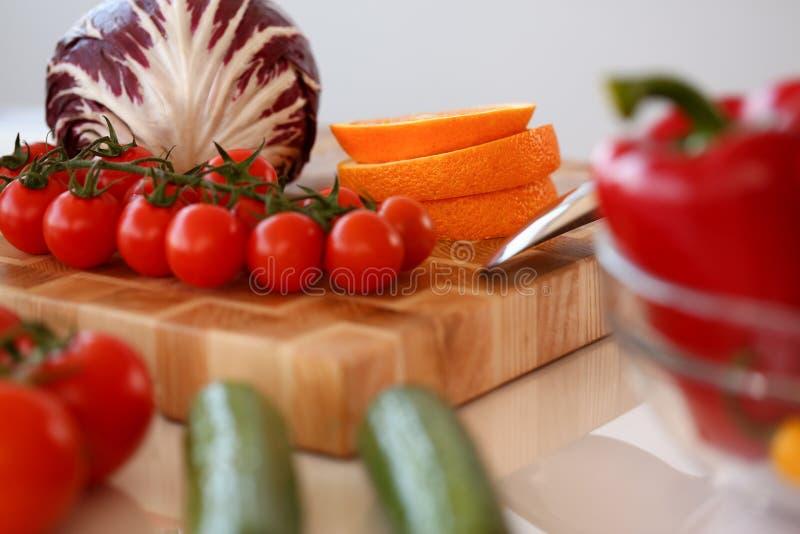 Fotografia di verdure sana cruda assortita dell'alimento fotografie stock