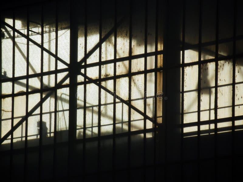 Fotografia do detalhe da fábrica velha imagem de stock