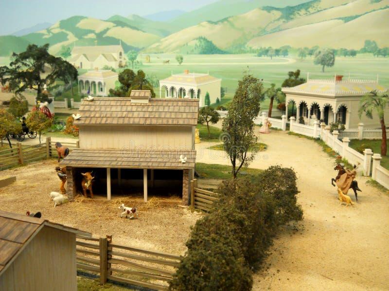 Fotografia do Diorama de Miniture foto de stock royalty free