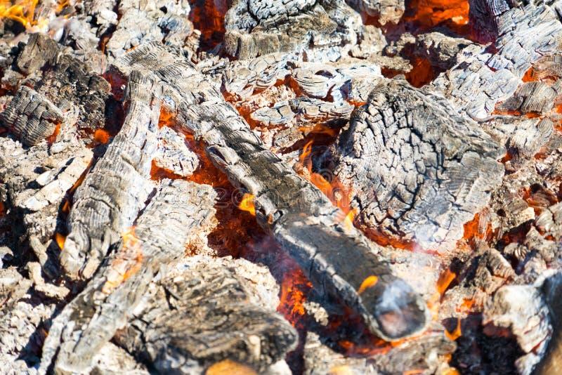Fotografia gorący węgle Tło Miejsce dla twój teksta zdjęcia royalty free