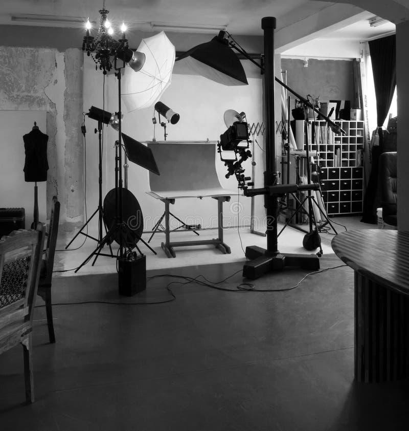 Fotografia interna do estúdio imagens de stock