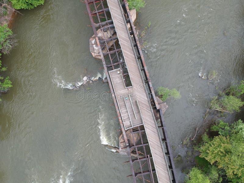 Fotografia James rzeki most obrazy stock