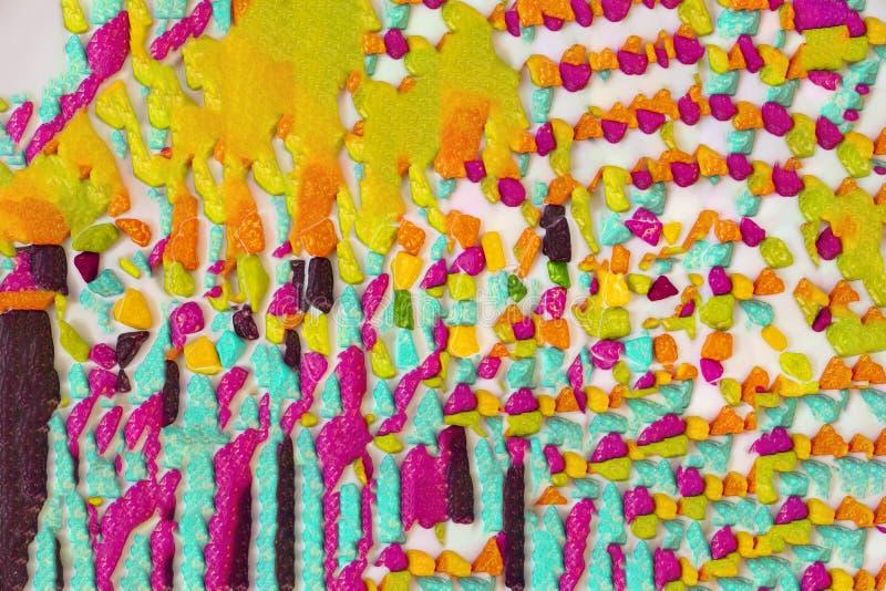 Fotografia jaskrawy śmiały kolorowy tło zdjęcia stock