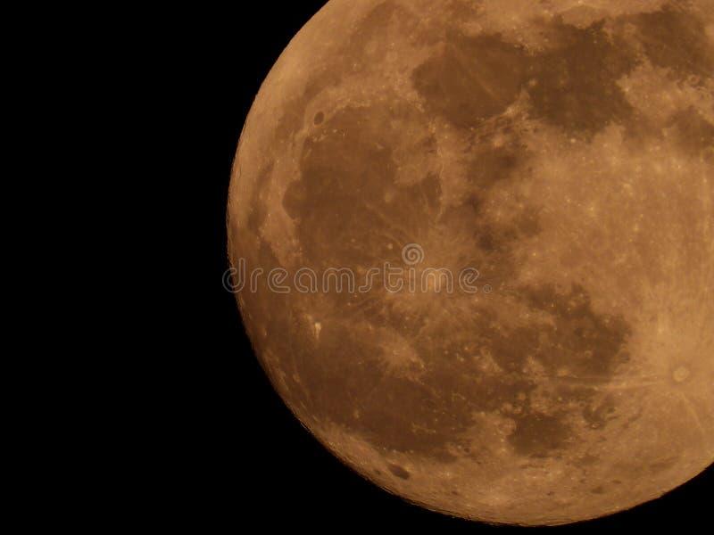 Fotografia księżyc w pełni od Włoskiego nieba zdjęcia royalty free