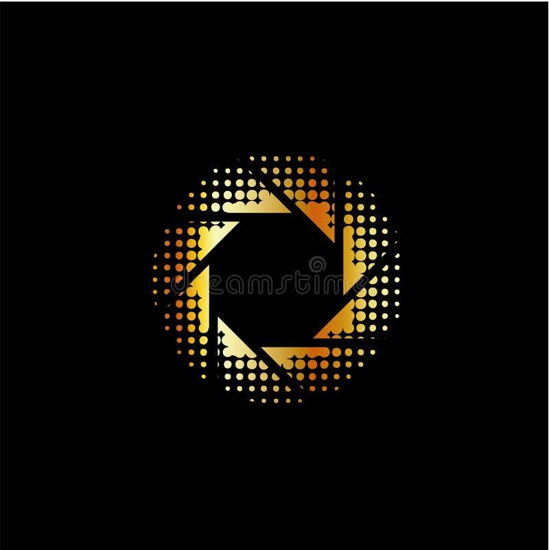 Fotografia logo royalty ilustracja