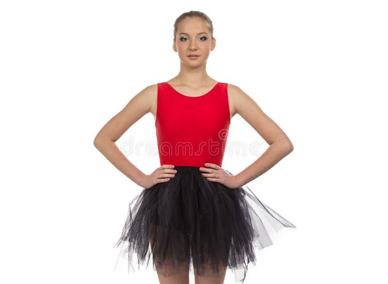 Fotografia młoda balerina zdjęcie stock