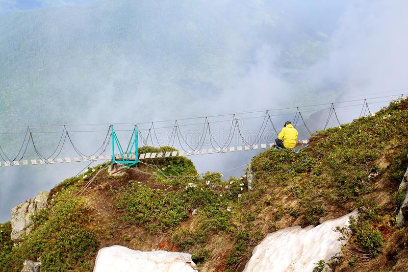 Fotografia piękne góry zdjęcia royalty free
