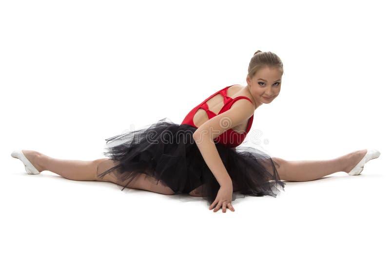 Fotografia rozciąganie balerina obraz royalty free