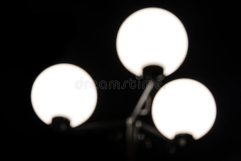 Fotografia scura del lampione vago immagine stock libera da diritti