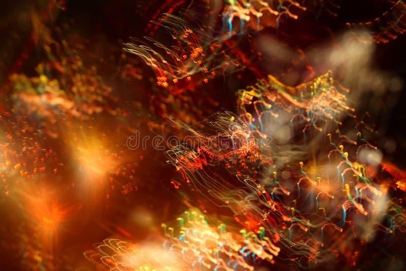 Fotografia skutki, tło, lekka abstrakcja fotografia stock