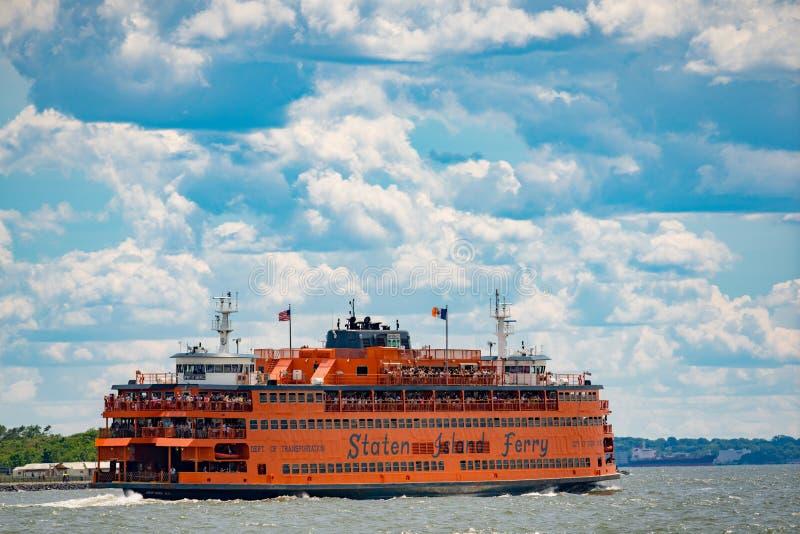 Fotografia Staten Island prom Nowy Jork zdjęcie stock