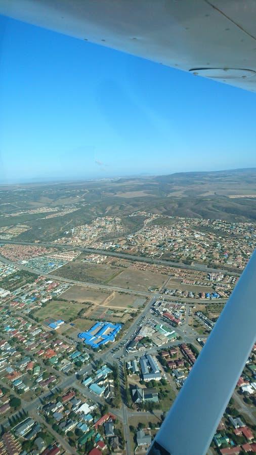 Fotografia Sudafrica degli aerei di paesaggio di aviazione fotografia stock libera da diritti