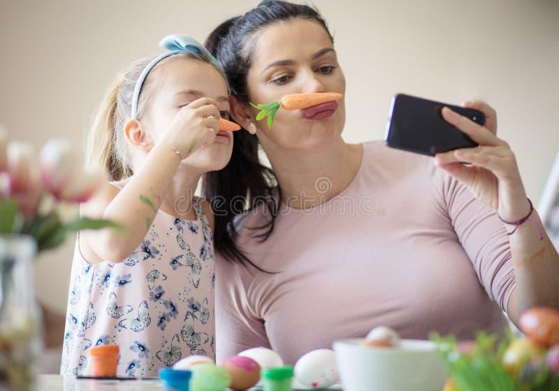 Fotografia sveglia per Pasqua fotografia stock libera da diritti