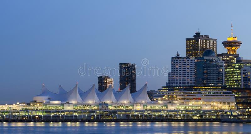 Vancouver linia horyzontu zdjęcia stock