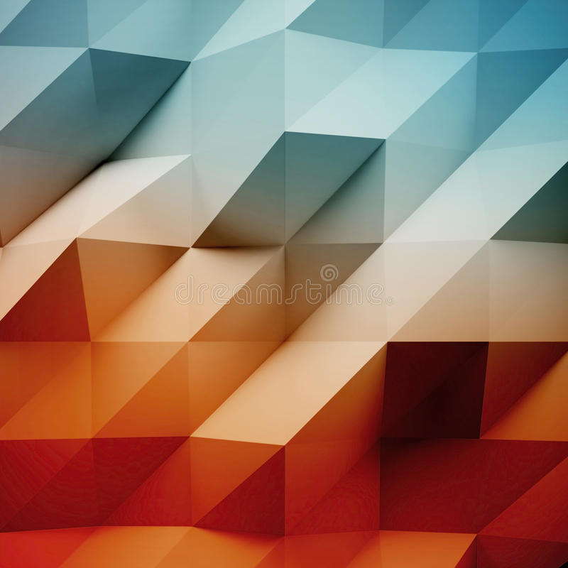 Fotografia wysoce szczegółowy biały wielobok Multicolor geometryczny miętoszący trójgraniasty niski poli- styl abstrakcjonistyczn ilustracja wektor
