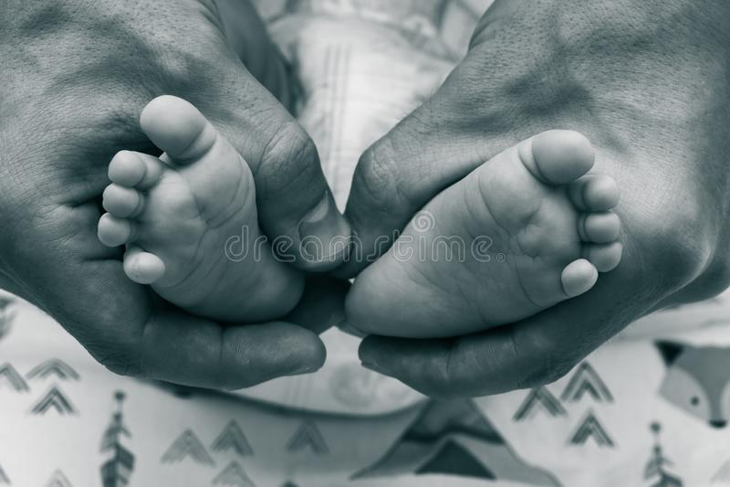 Fotografia z dziecko nogami obraz royalty free