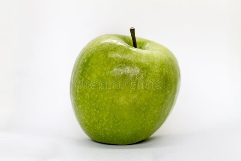 Fotografia zielony jabłczany widok zdjęcie stock