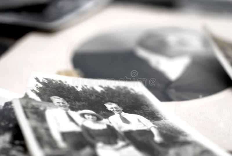 Fotografias da família foto de stock