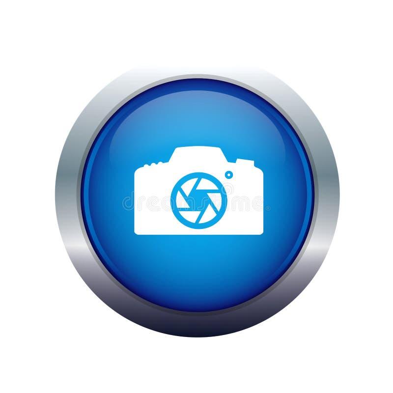 fotograficzna kamery ikona ilustracja wektor