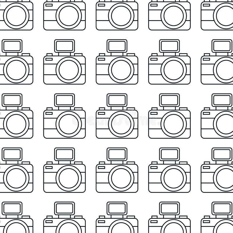 fotograficznej kamery wzoru ikona royalty ilustracja