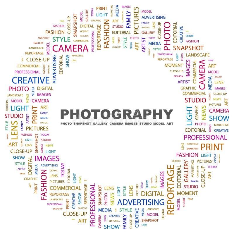 FOTOGRAFIE vector illustratie
