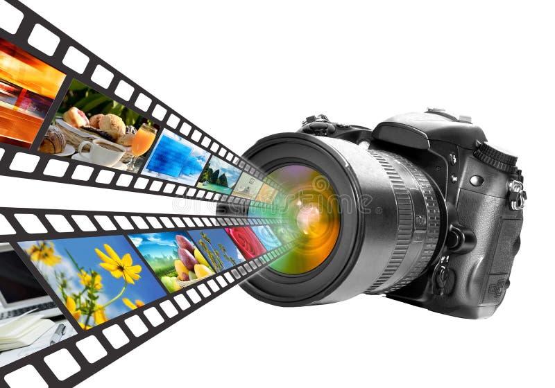 Fotografie & de Technologie van Media vector illustratie