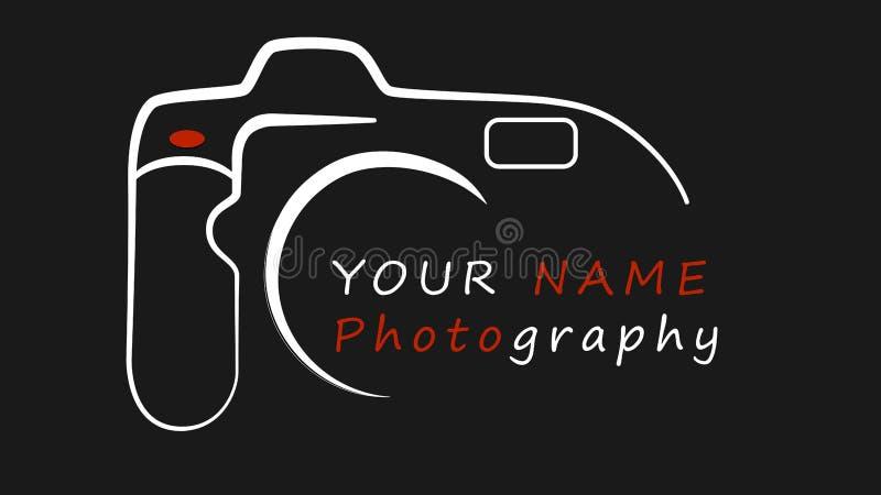 Fotografie bedrijfsembleemontwerp stock illustratie