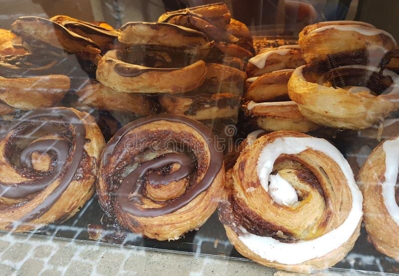 Fotografie ciasto specjalność od Sardinia, Włochy obraz stock