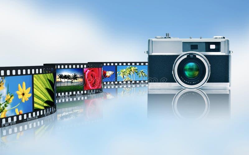 Fotografie en beeld het delen royalty-vrije illustratie